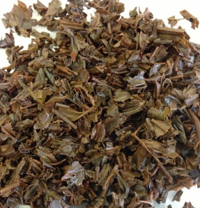NaturaliTea Japanese Black Tea - Infused Leaves