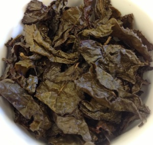 Black Oolong Infused Leaves