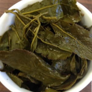 LiShan Spring Oolong Infused Leaves