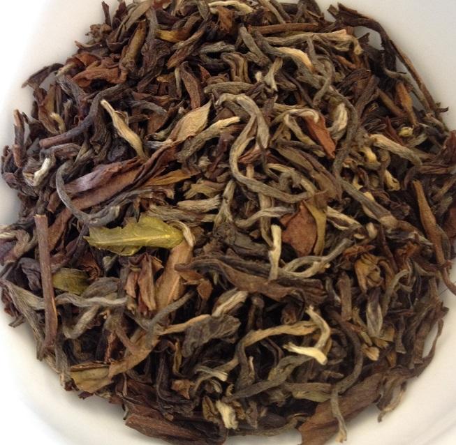 Margarets Hope Golden Delight 2nd Flush Dry Leaves