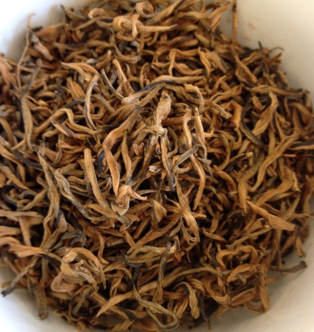 Keemun Mao Feng Black Tea Dry Leaves