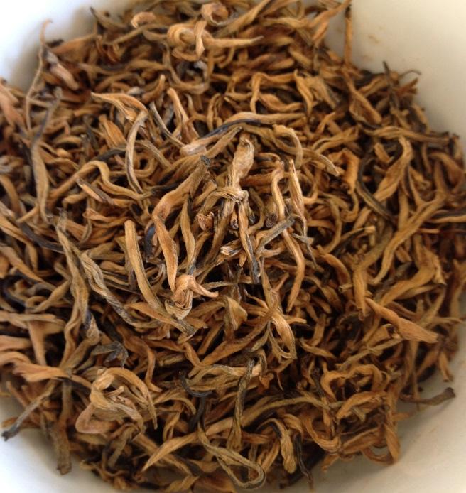 Keemun Mao Feng Black Tea Dry Leaves