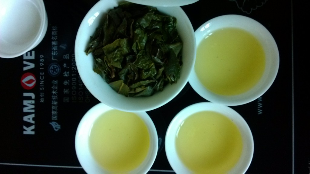Fresh Brewed Ti Kuan Yin