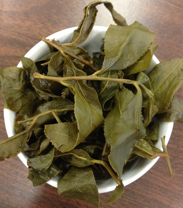 Mount Chilai Original Oolong Infused Leaves in Cup