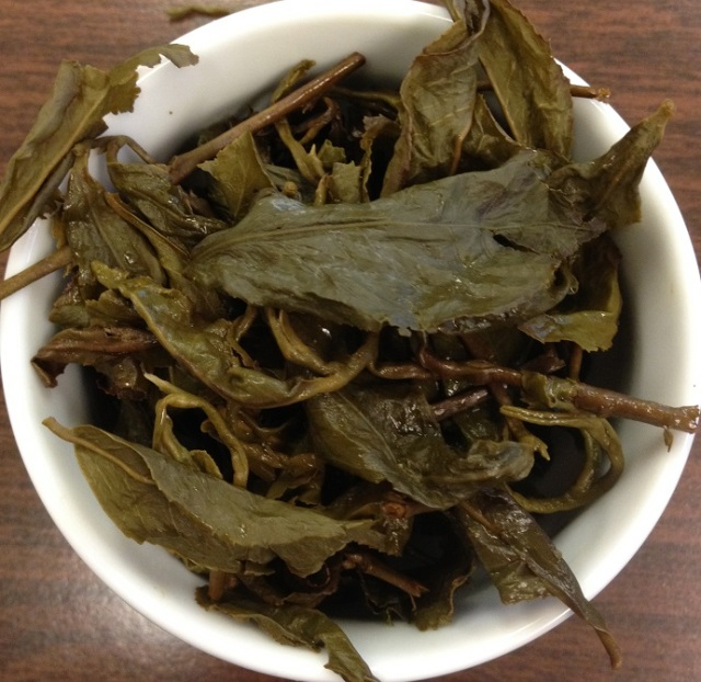 Organic Roasted Oolong Infused Leaves