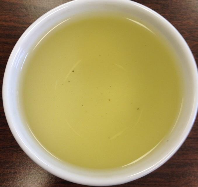 High Grade Gunpowder Green Tea 1st Infusion