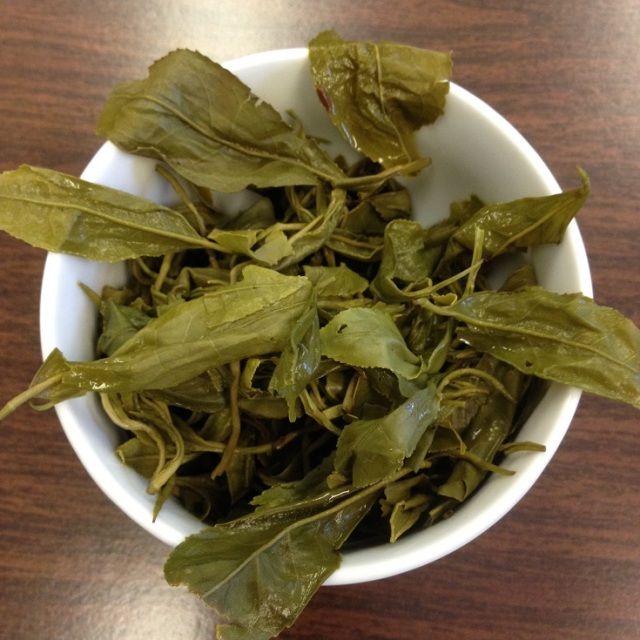 High Grade Gunpowder Green Tea Infused Leaves