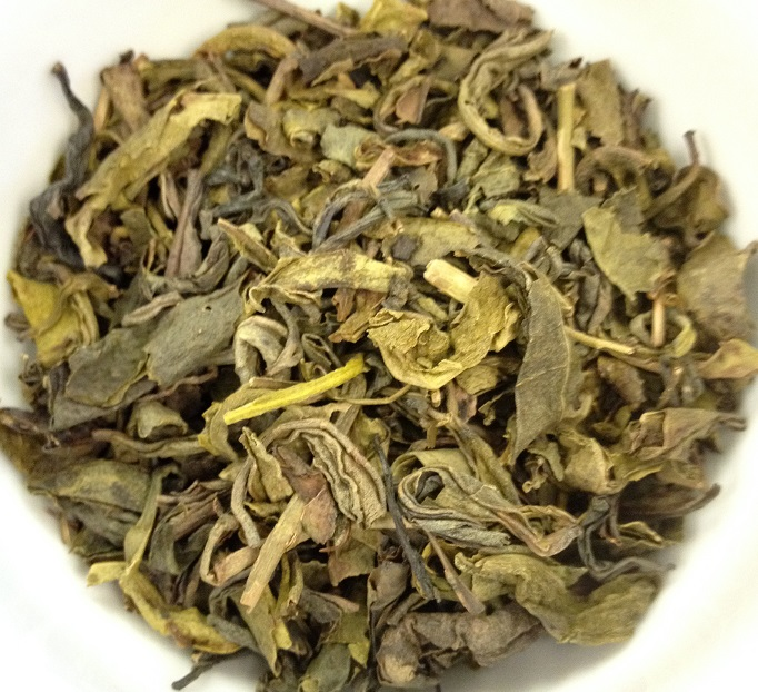 Ceylon OPA#2 Green Tea Dry Leaves