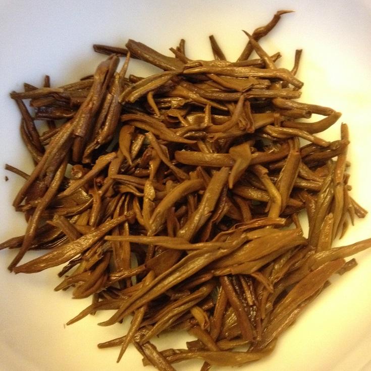 Yun Nan Dian Hong Black Tea Infused Leaves