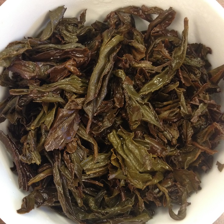TeaVivre Da Hong Pao Rock Oolong Infused Leaves
