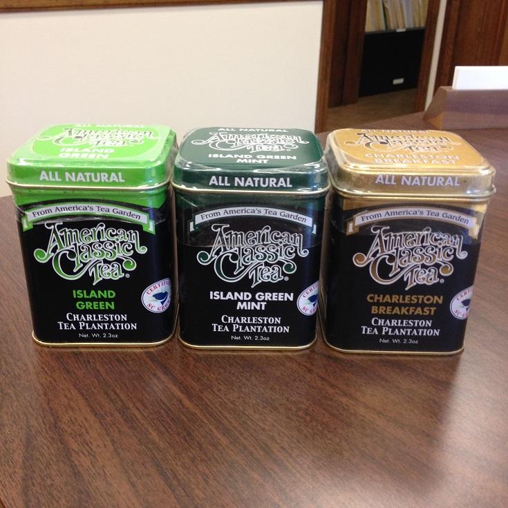 Charleston Tea Plantations Products & Tins