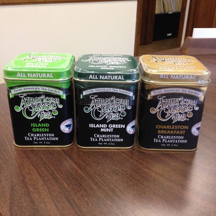 Charleston Tea Plantations Products & Tins