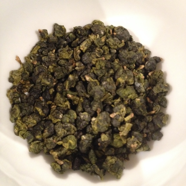 Peach Oolong Tea Dry leaves
