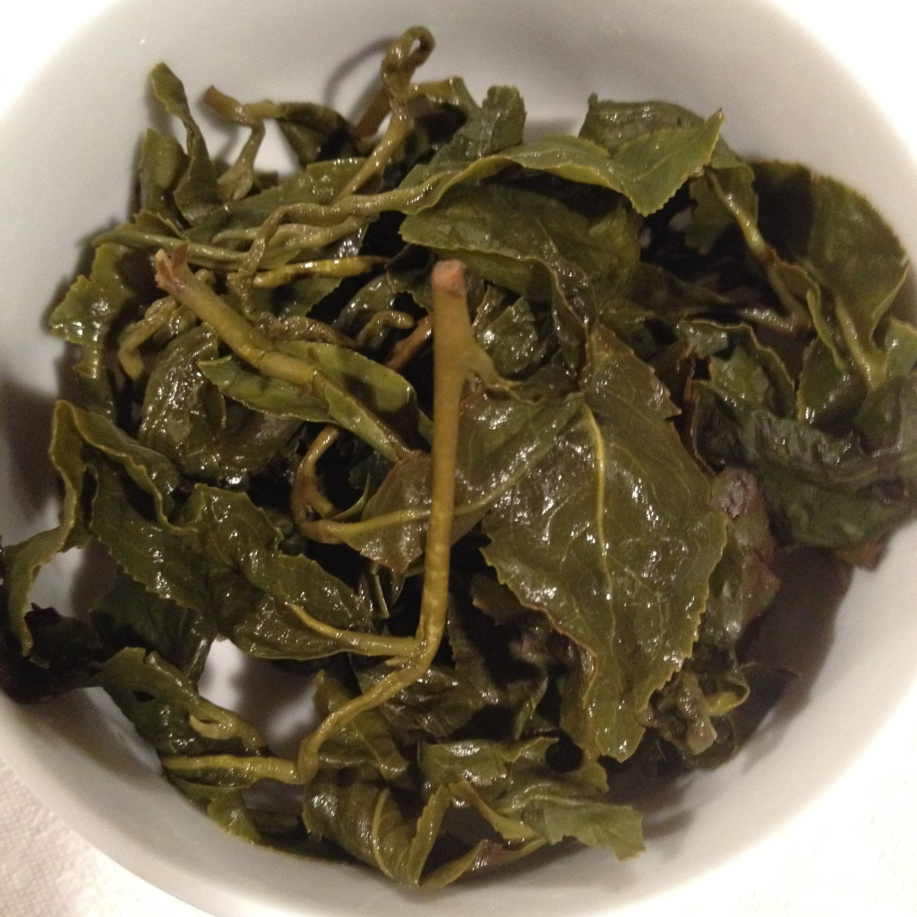 Peach Oolong Tea Infused Leaves