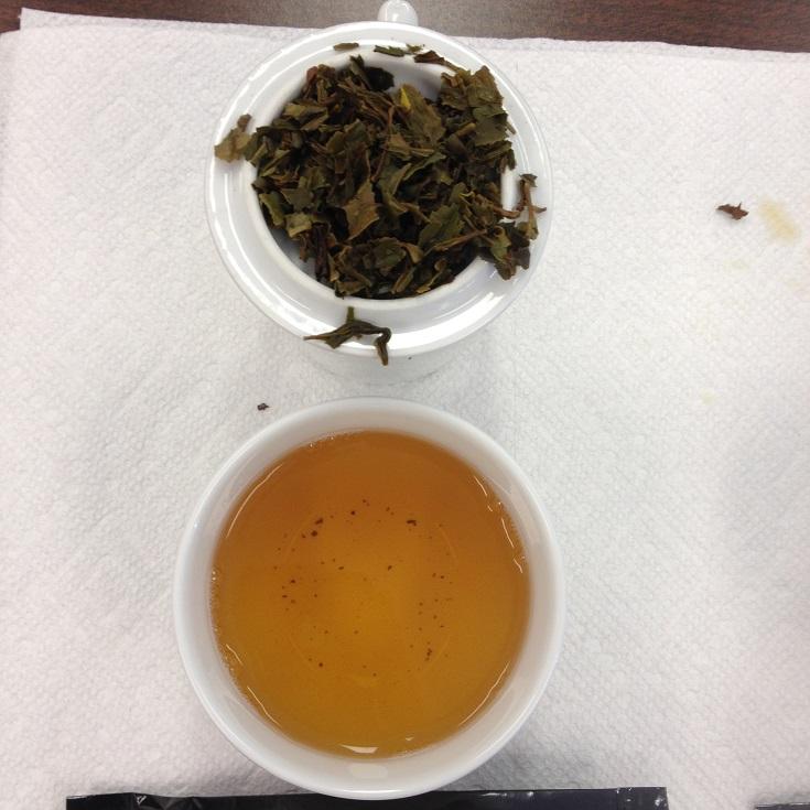 Jungpana First Flush Liquor and Wet Leaves