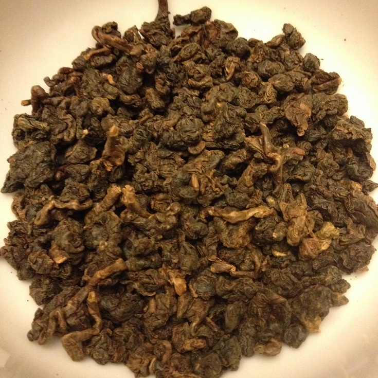 Amber Oolong Dry Leaves