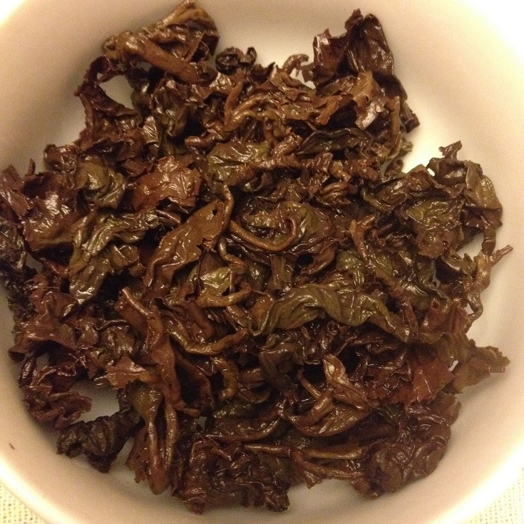 Amber Oolong Infused Leaves