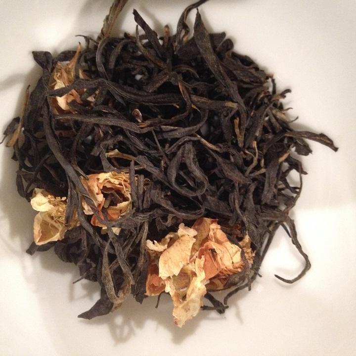 OP1 with Tea Flowers Dry Leaves