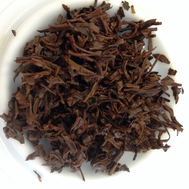 Anhui Tea Keemun Hao Ya A Infused Leaves