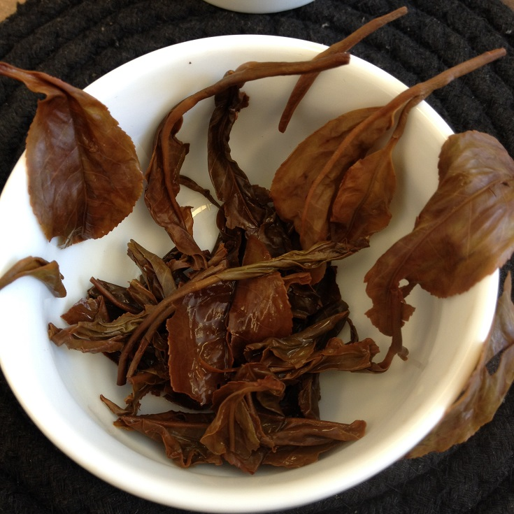 Satemwa Handmade Treasure Black Tea Infused Leaves