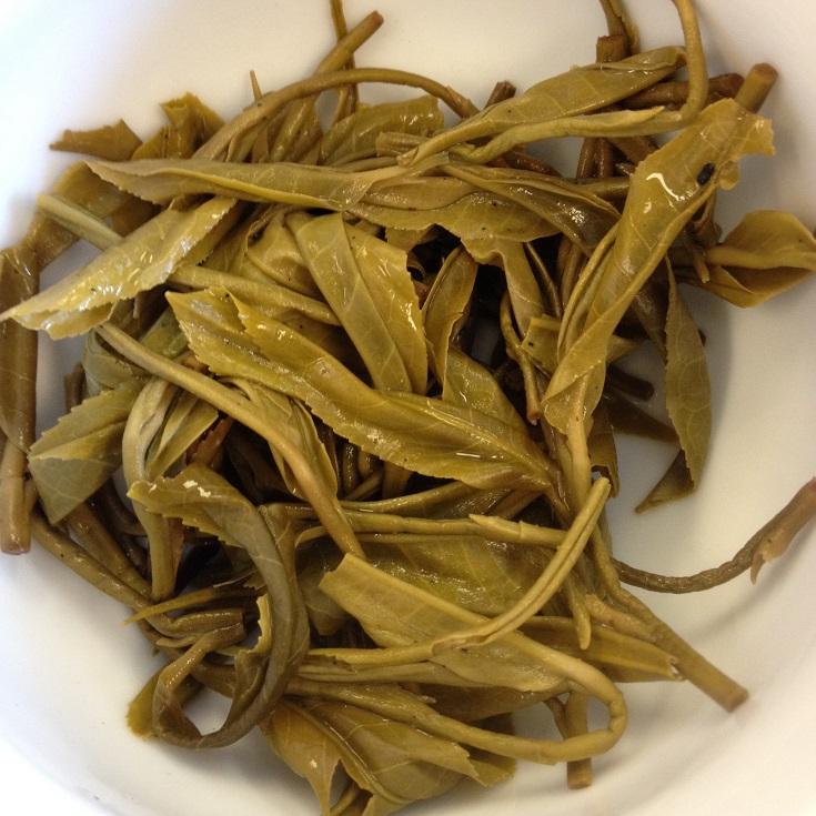Teaneer Yellow Tea Infused Leaves