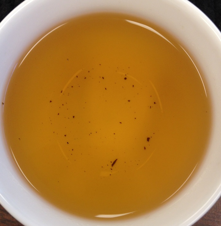 Hand-Rolled Fermented Purple Tea 3rd Infusion
