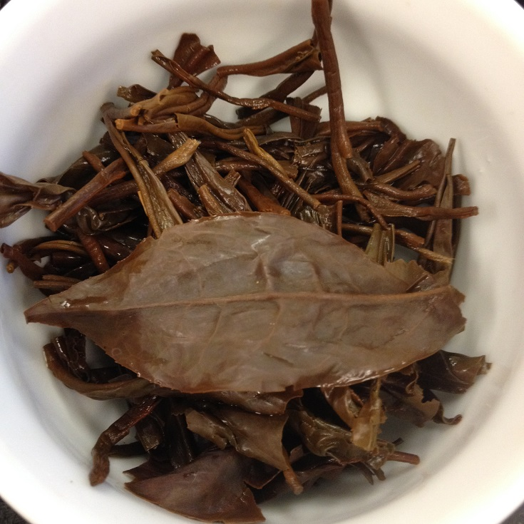 Hand-Rolled Fermented Purple Tea Infused Leaves