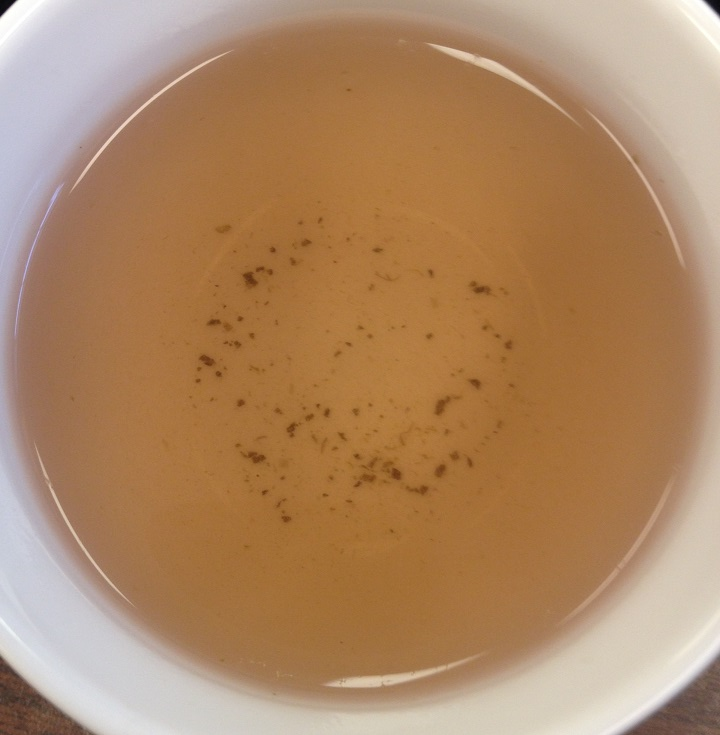 Steamed Purple Tea 2nd Infusion