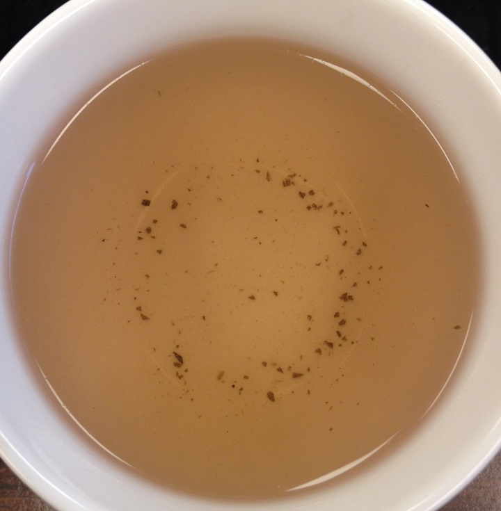 Steamed Purple Tea 3rd Infusion