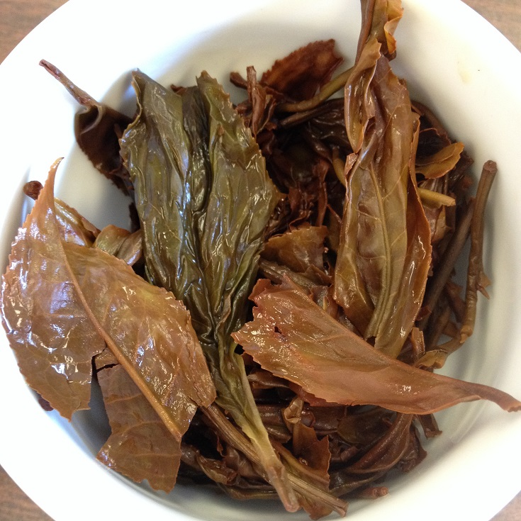 Satemwa OP1 Black Tea Infused Leaves