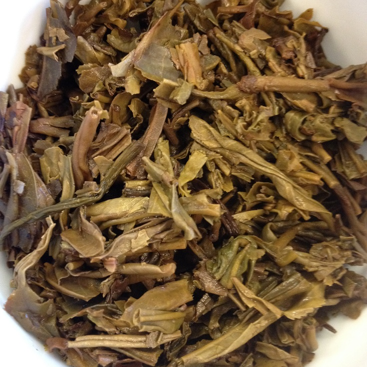 Fengqing 2006 Raw Puer Infused Leaves