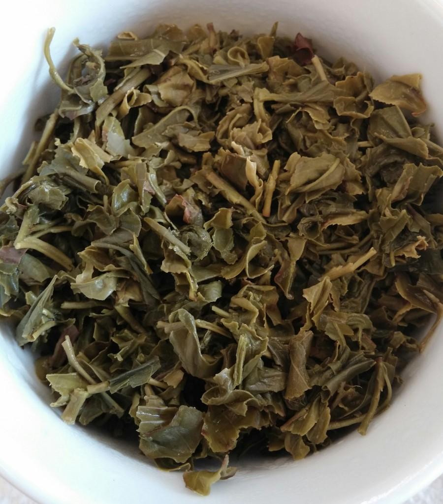 Organic Jaksul Chut Mool Green Tea Infused Leaves