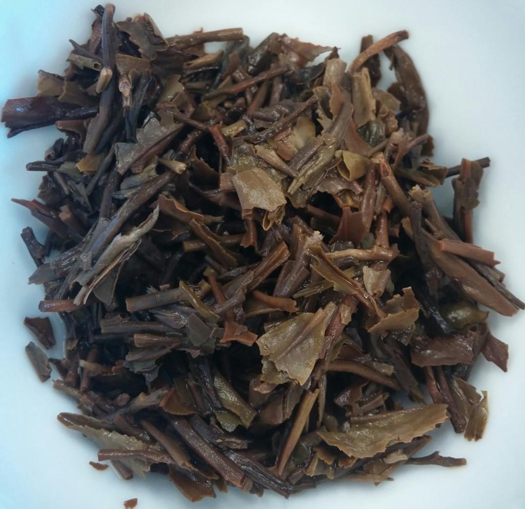 Mt. Kanchenjunga SFTGFOP Black Tea Infused Leaves
