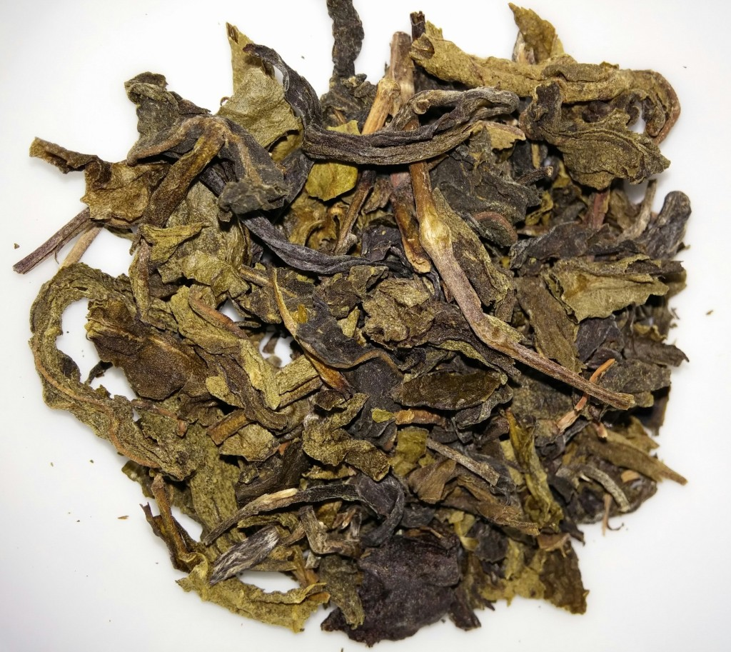 Suwirun Green Tea Dry Leaves