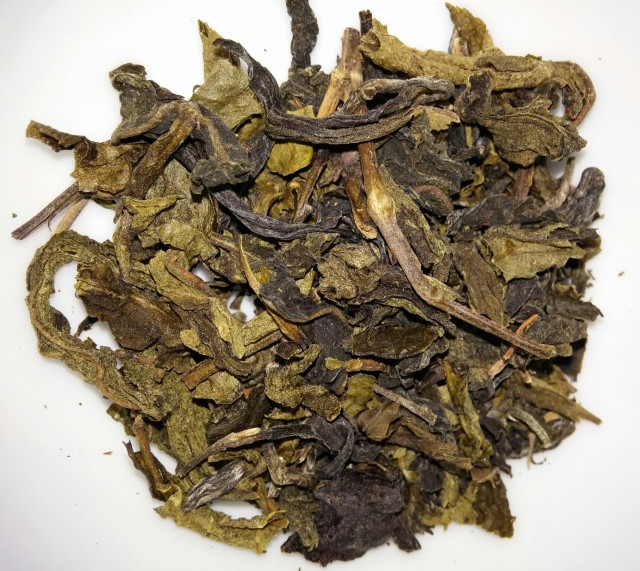 Suwirun Green Tea Dry Leaves