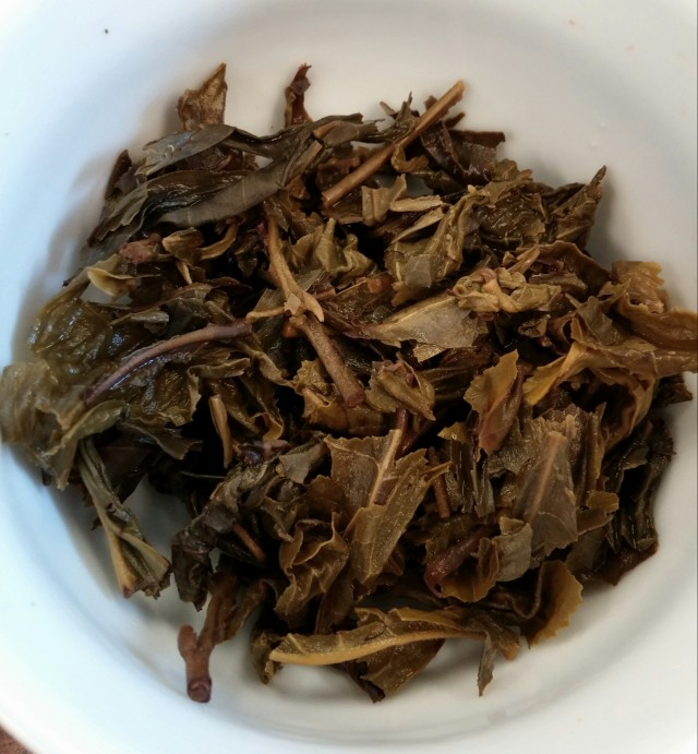 Suwirun Green Tea Infused Leaves