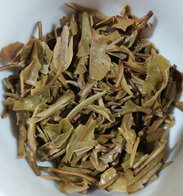 Mount Kanchenjunga White Tea Infused Leaves