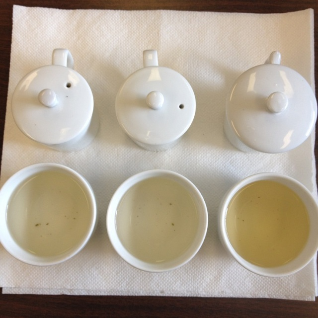Jasmine Green Tea 1st Infusion Comparison