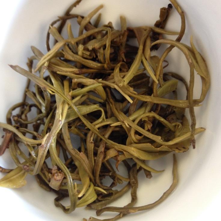 Jasmine Dragon Pearl # 1 Infused Leaves