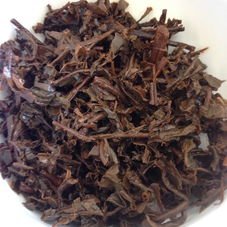 Pai Red Tea Infused Leaves