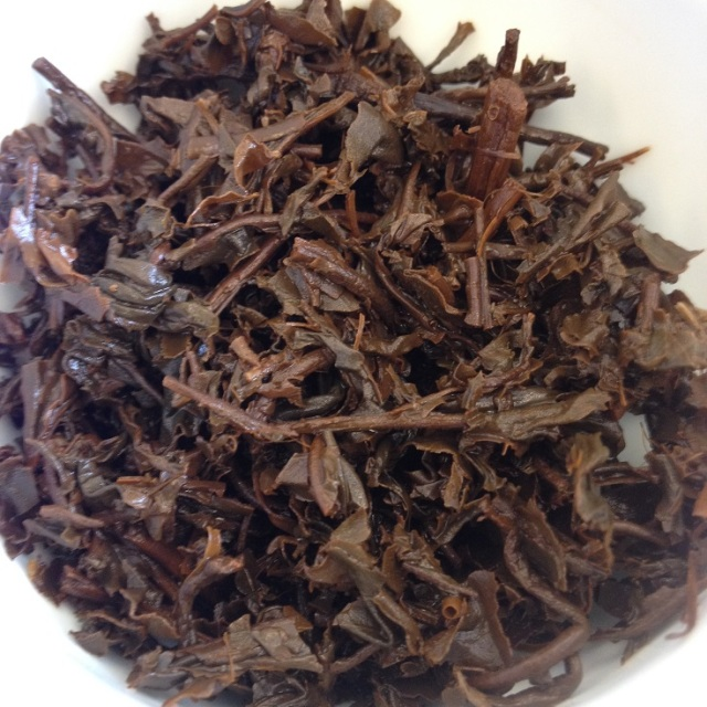 Pai Red Tea Infused Leaves