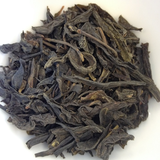 Mountain Roasted Green Tea Dry Leaves
