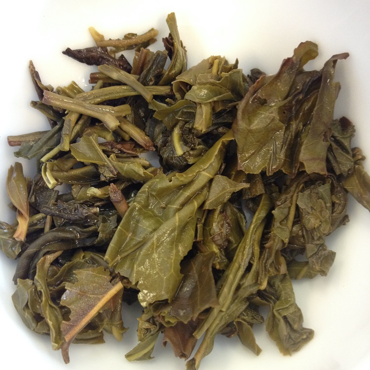 Mountain Roasted Green Tea Infused Leaves