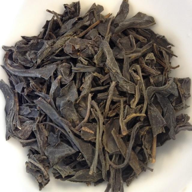 Shan First Flush Green Tea Dry Leaves