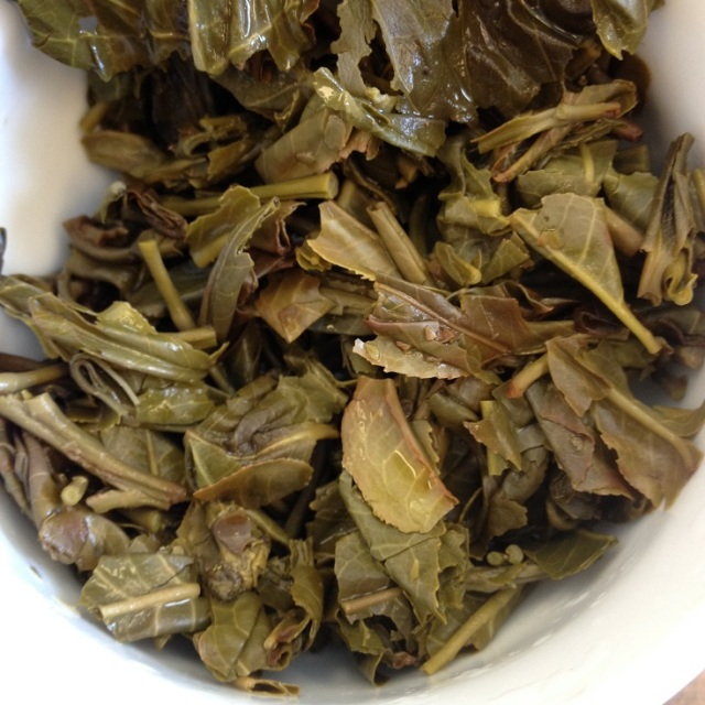 Shan First Flush Green Tea Infused Leaves (2)