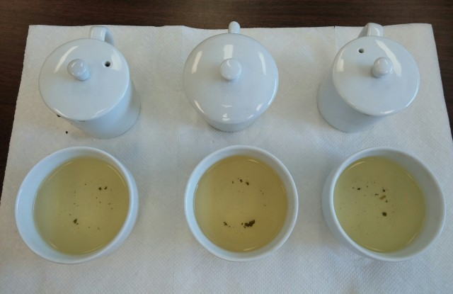 Jin Xuan Wulong Tea Comparison - 2nd Infusion