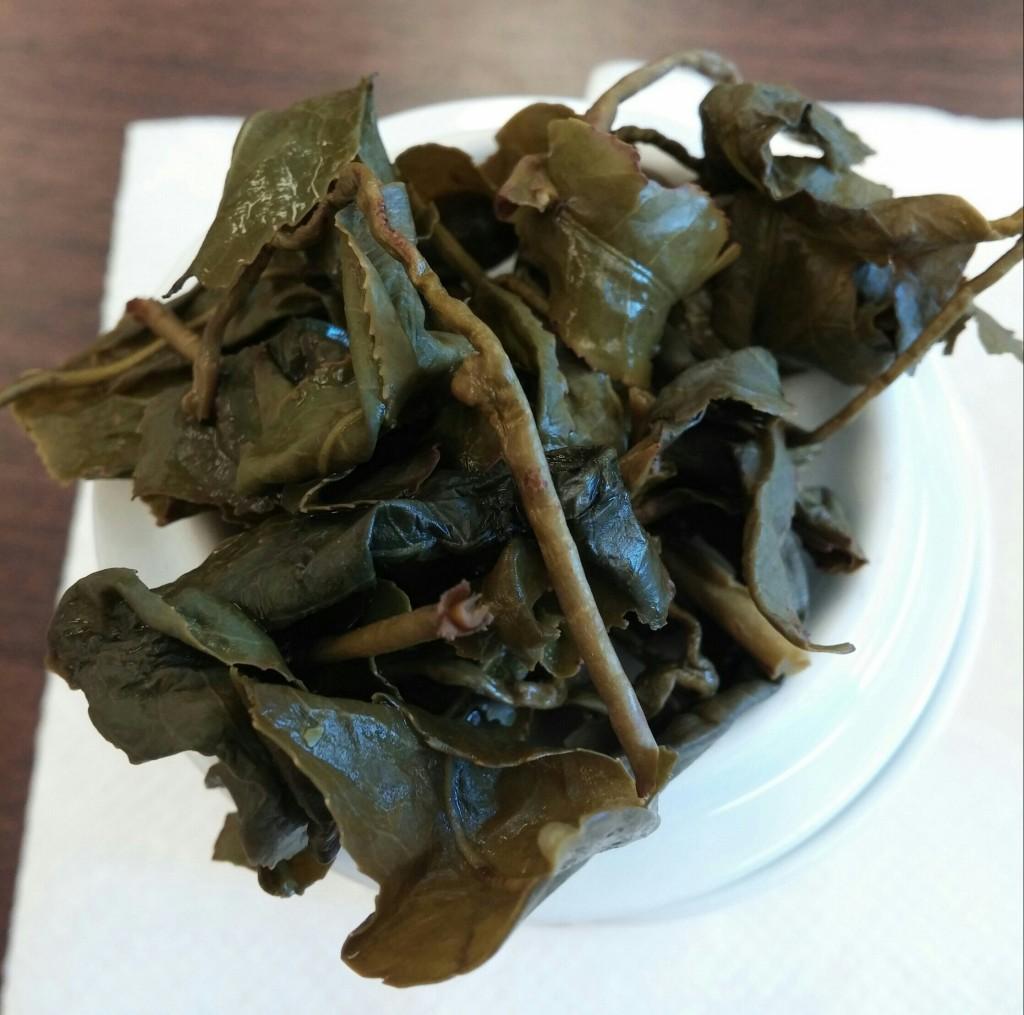 Alishan Taiwan Jin Xuan Wulong - Infused Leaves