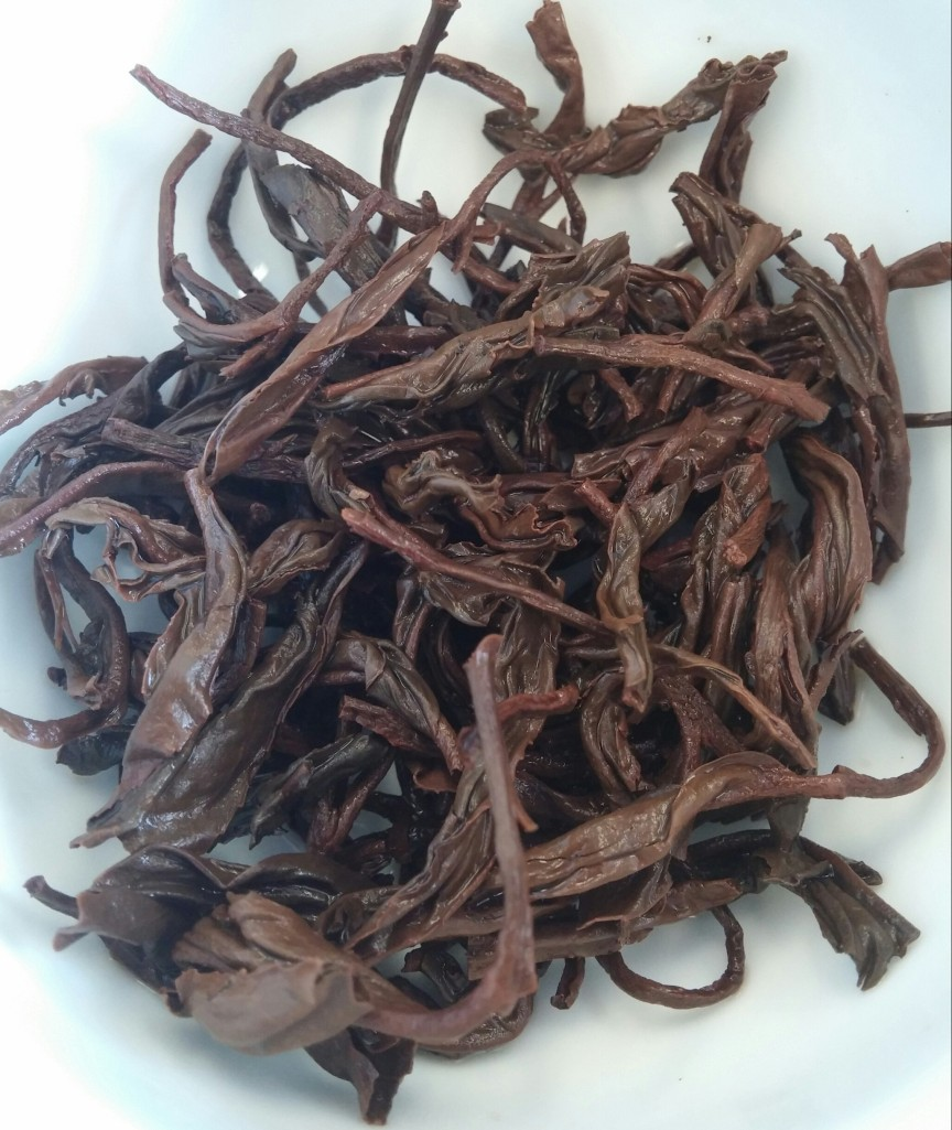 Pouchong Red Tea Infused Leaves