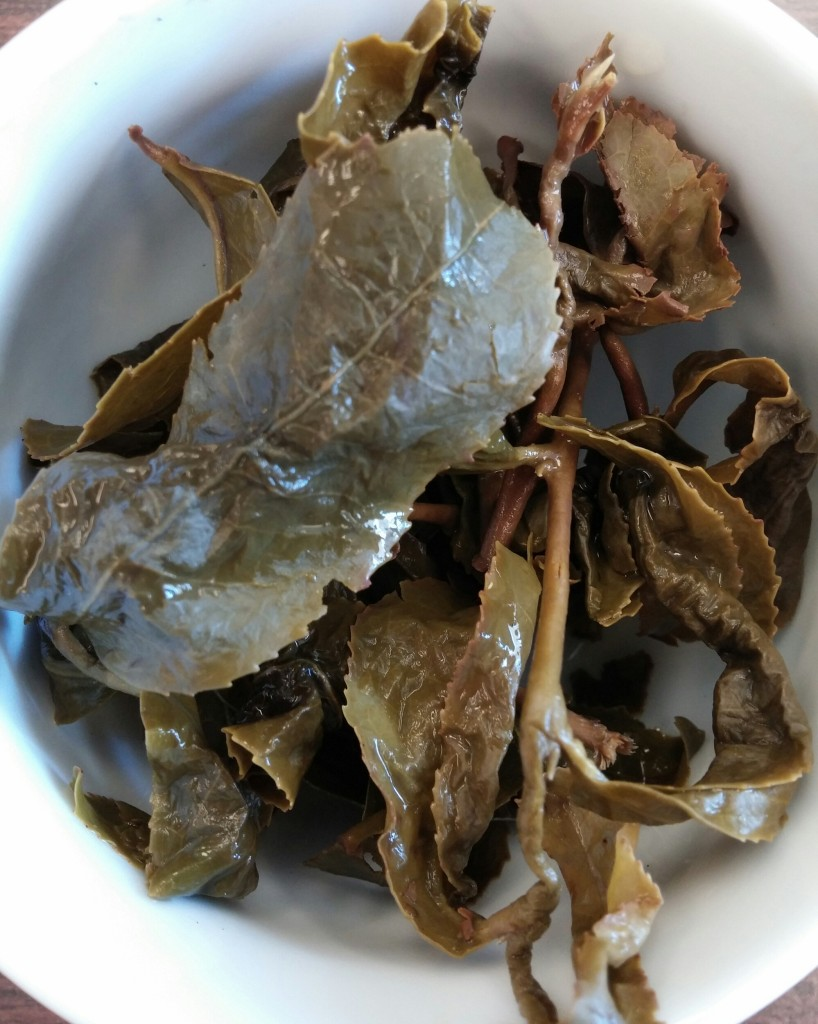Cao Son Oolong Tea Infused Leaves
