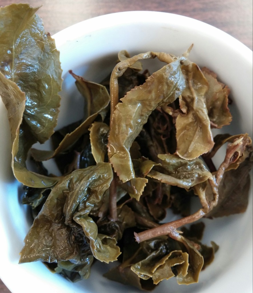 Cao Son Oolong Tea Infused Leaves (2)